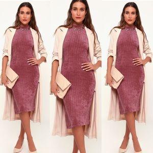 Lulu's Dresses - Mock neck sweater dress